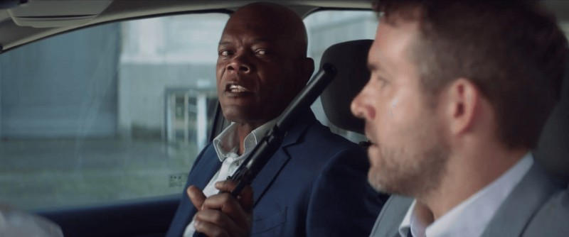 Ryan Reynolds, Samuel L. Jackson ve filmu Zabiják & bodyguard / The Hitman's Bodyguard