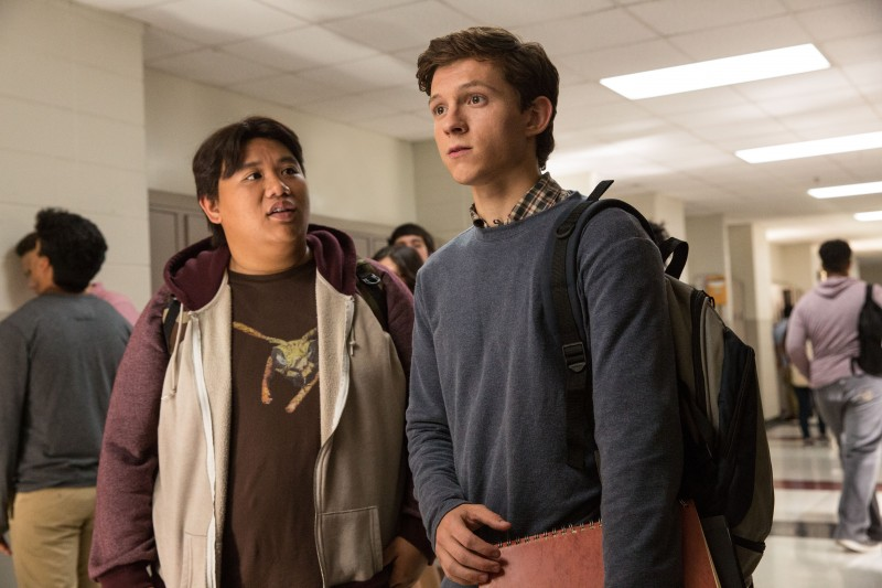 Tom Holland, Jacob Batalon ve filmu Spider-Man: Homecoming / Spider-Man: Homecoming