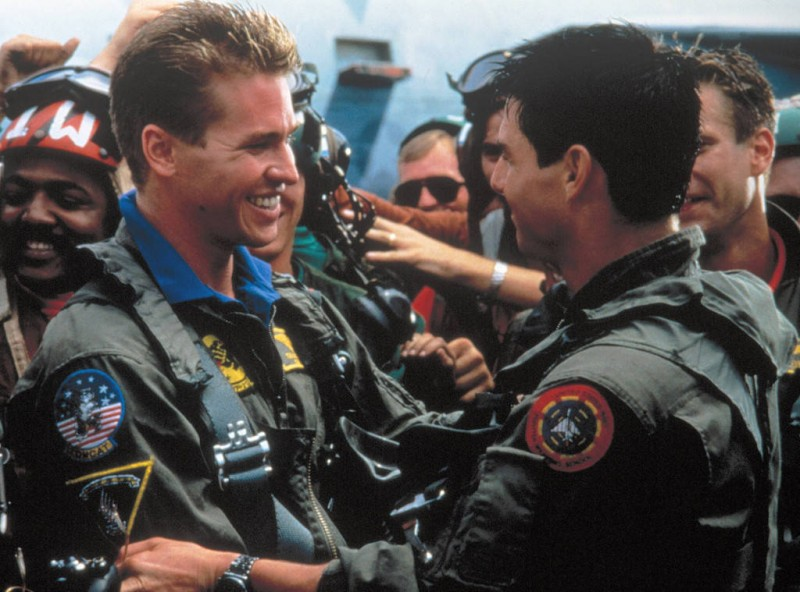 Tom Cruise, Val Kilmer ve filmu  / Top Gun
