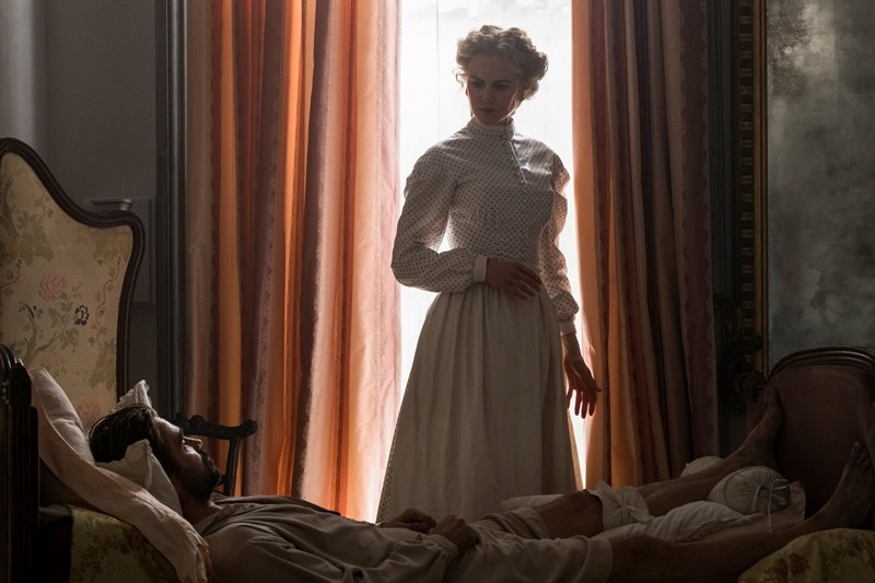 Colin Farrell, Nicole Kidman ve filmu Oklamaný / The Beguiled