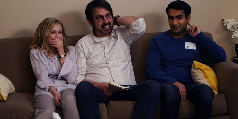 Holly Hunter, Ray Romano, Kumail Nanjiani ve filmu Pěkně blbě / The Big Sick
