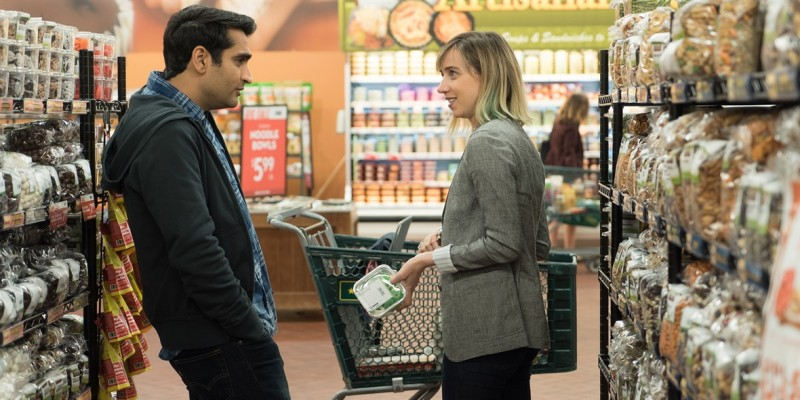 Kumail Nanjiani, Zoe Kazan ve filmu Pěkně blbě / The Big Sick