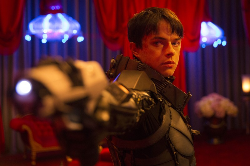 Dane DeHaan ve filmu Valerian a město tisíce planet / Valerian and the City of a Thousand Planets