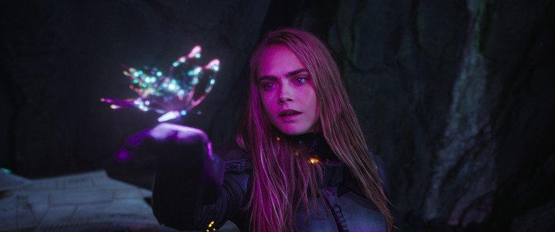 Cara Delevingne ve filmu Valerian a město tisíce planet / Valerian and the City of a Thousand Planets