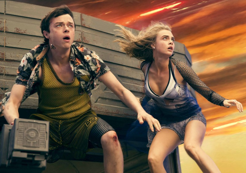 Dane DeHaan, Cara Delevingne ve filmu Valerian a město tisíce planet / Valerian and the City of a Thousand Planets