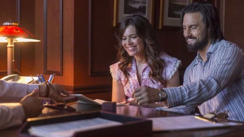 Milo Ventimiglia, Mandy Moore ve filmu  / This Is Us