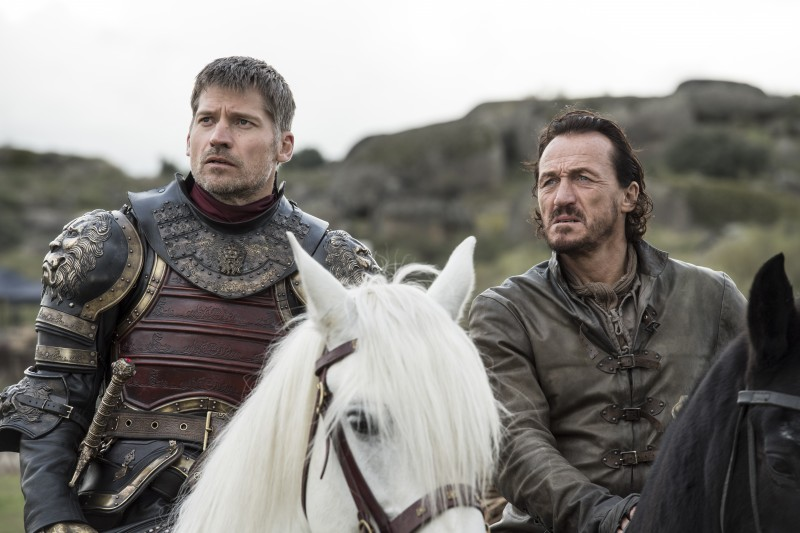 Nikolaj Coster Waldau, Jerome Flynn ve filmu Hra o trůny / Game of Thrones