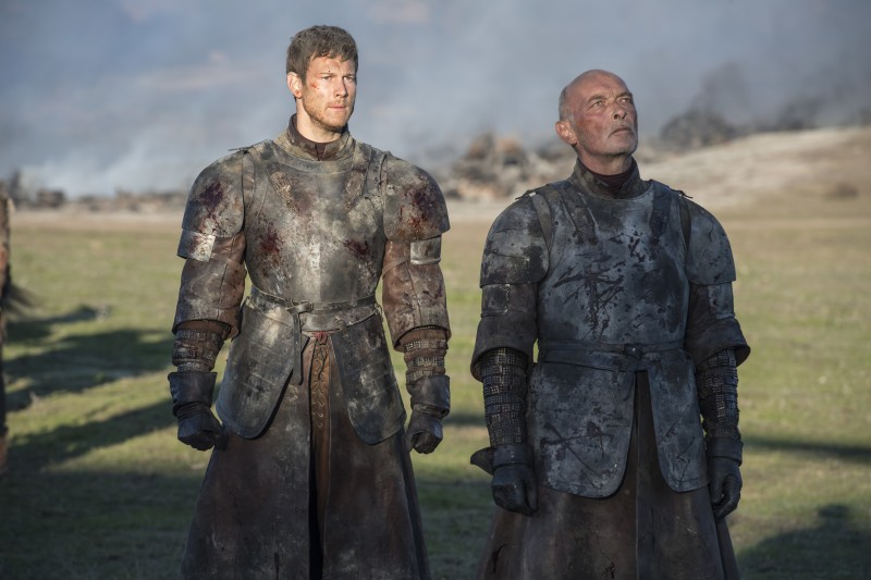Tom Hopper, James Faulkner ve filmu Hra o trůny / Game of Thrones