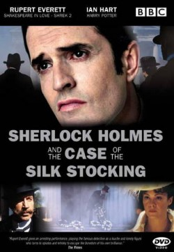 Plakát filmu Sherlock Holmes a případ hedvábné punčochy / Sherlock Holmes and the Case of the Silk Stocking