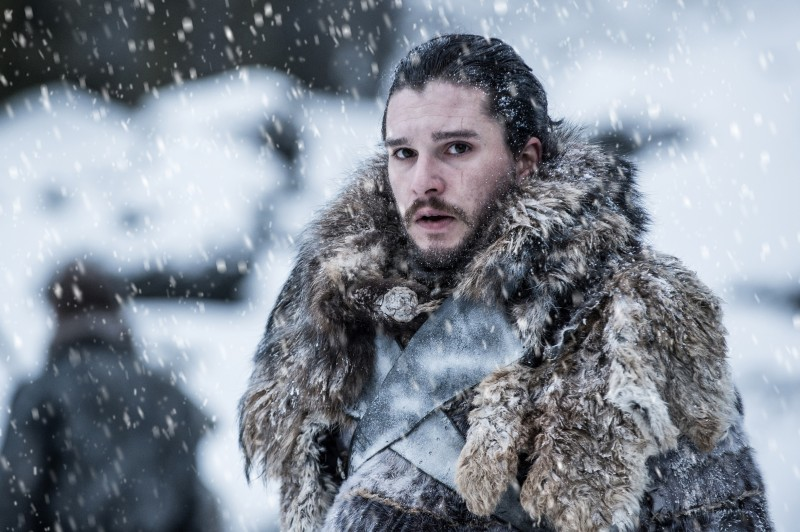 Kit Harington ve filmu Hra o trůny / Game of Thrones