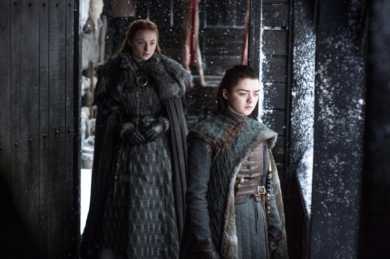 Sophie Turner, Maisie Williams ve filmu Hra o trůny / Game of Thrones