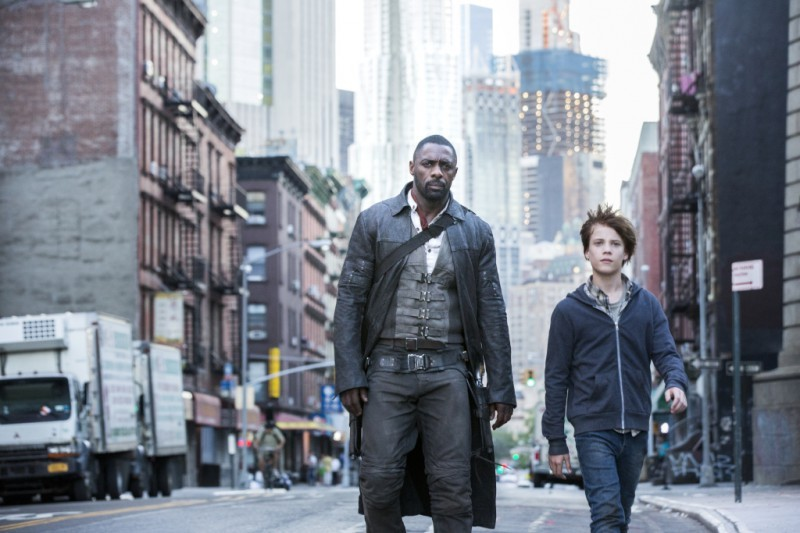 Idris Elba, Tom Taylor ve filmu Temná věž / The Dark Tower