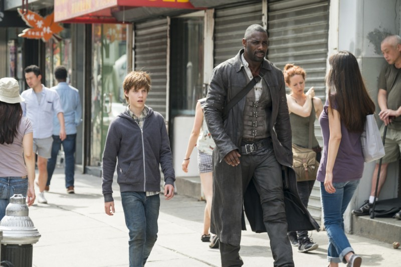 Tom Taylor, Idris Elba ve filmu Temná věž / The Dark Tower