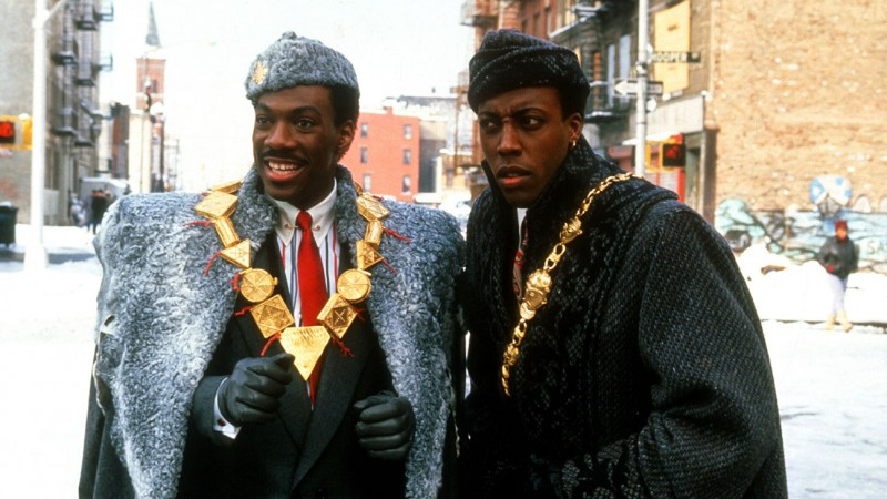 Eddie Murphy, Arsenio Hall ve filmu Cesta do Ameriky / Coming to America