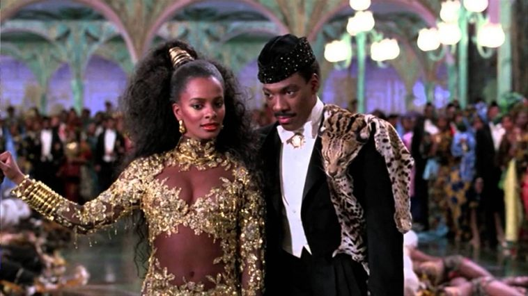Eddie Murphy, Vanessa Bell Calloway ve filmu Cesta do Ameriky / Coming to America