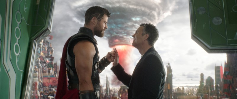 Chris Hemsworth, Mark Ruffalo ve filmu Thor: Ragnarok / Thor: Ragnarok