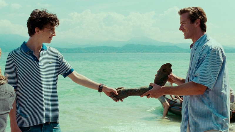Timothée Chalamet, Armie Hammer ve filmu  / Call Me by Your Name