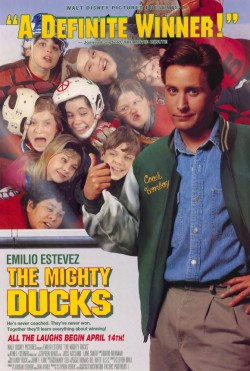 Plakát filmu Šampióni / The Mighty Ducks