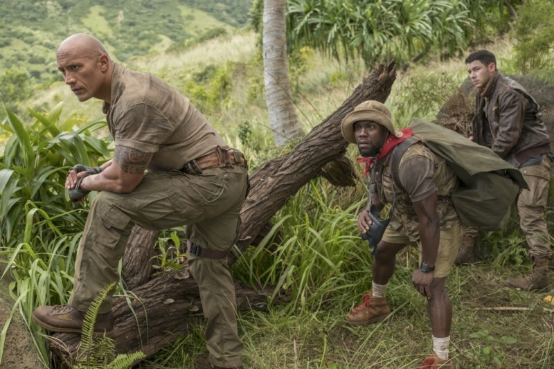 Dwayne Johnson, Kevin Hart ve filmu Jumanji: Vítejte v džungli! / Jumanji: Welcome to the Jungle