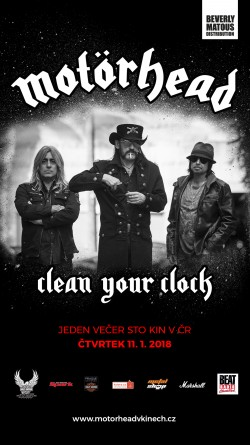 Motörhead: Clean Your Clock - 2016
