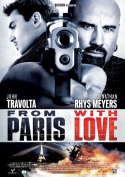 Plakát filmu Bez soucitu / From Paris with Love