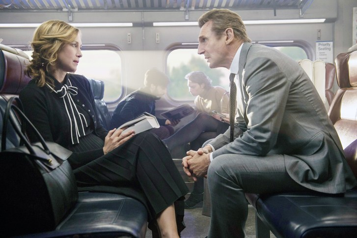 Liam Neeson, Vera Farmiga ve filmu Cizinec ve vlaku / The Commuter