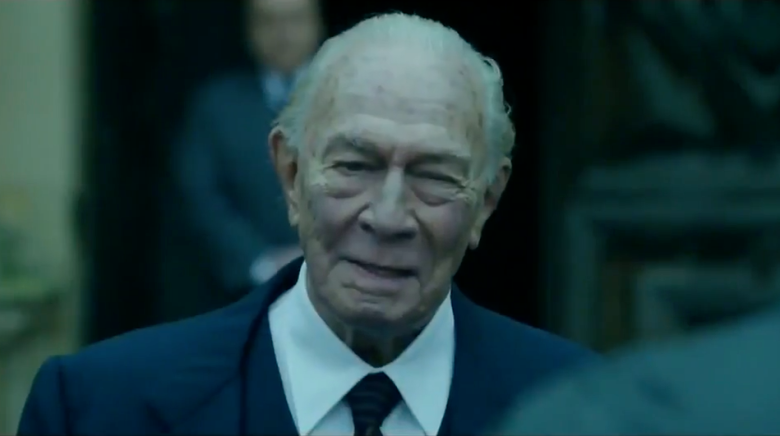 Christopher Plummer ve filmu Všechny prachy světa / All the Money in the World