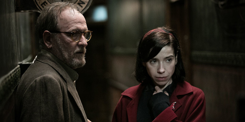 Richard Jenkins, Sally Hawkins ve filmu Tvář vody / The Shape of Water