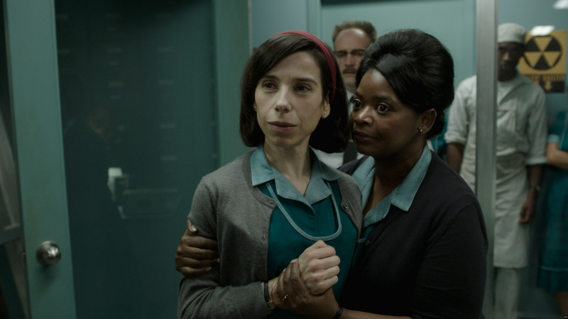 Sally Hawkins, Octavia Spencer ve filmu Tvář vody / The Shape of Water