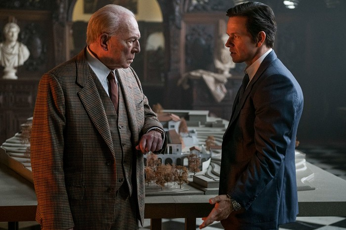 Christopher Plummer, Mark Wahlberg ve filmu Všechny prachy světa / All the Money in the World