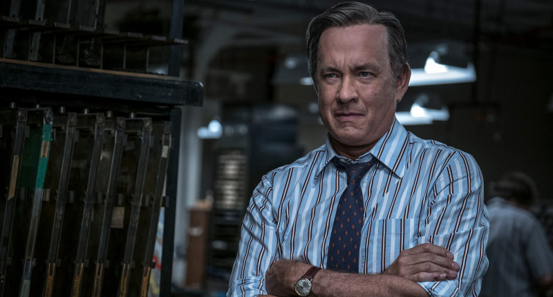 Tom Hanks ve filmu Akta Pentagon: Skrytá válka / The Post