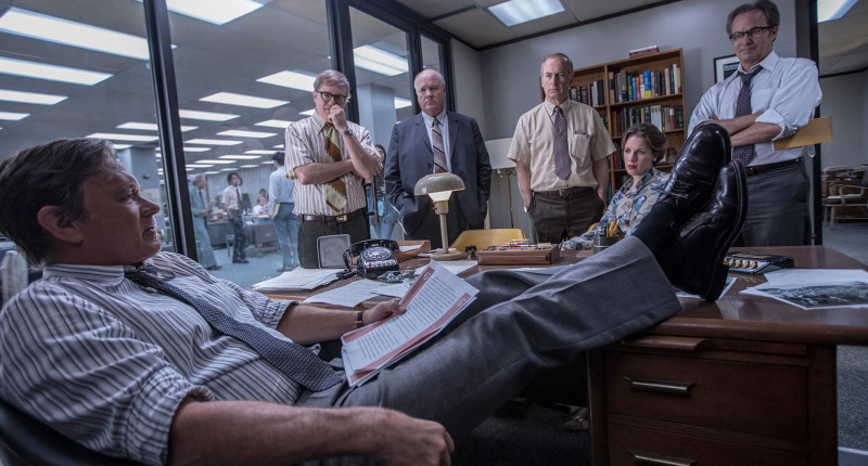 Bob Odenkirk, Tom Hanks ve filmu Akta Pentagon: Skrytá válka / The Post
