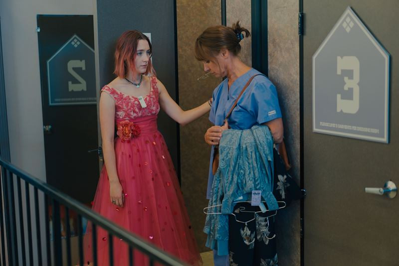 Saoirse Ronan, Laurie Metcalf ve filmu Lady Bird / Lady Bird
