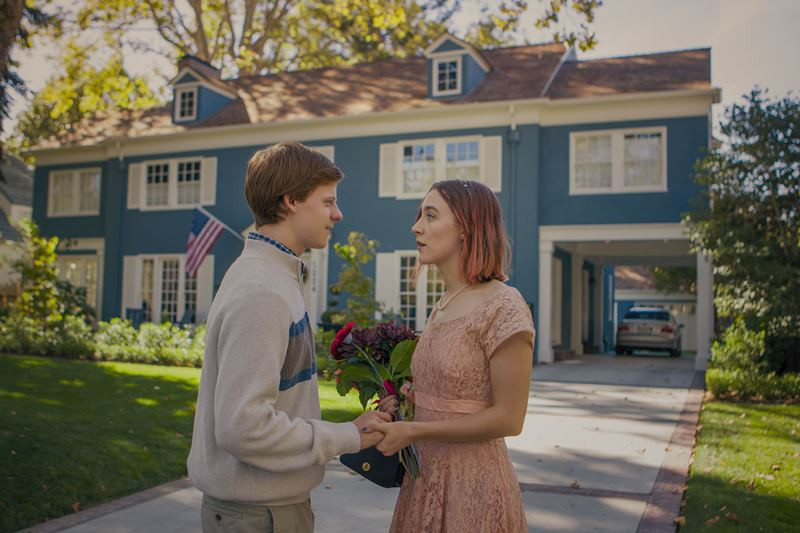 Lucas Hedges, Saoirse Ronan ve filmu Lady Bird / Lady Bird