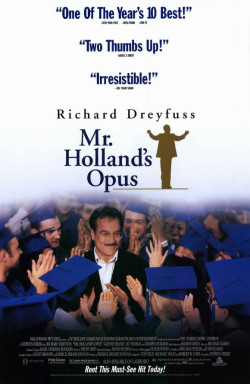 Plakát filmu Opus pana Hollanda / Mr. Holland's Opus