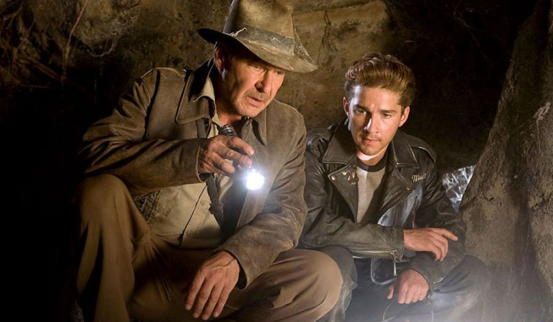 Harrison Ford, Shia LaBeouf ve filmu Indiana Jones a království křišťálové lebky / Indiana Jones and the Kingdom of the Crystal Skull