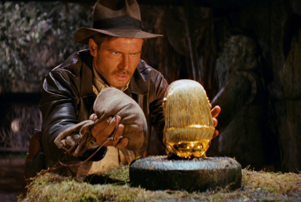 Harrison Ford ve filmu Indiana Jones a dobyvatelé ztracené archy / Raiders of the Lost Ark