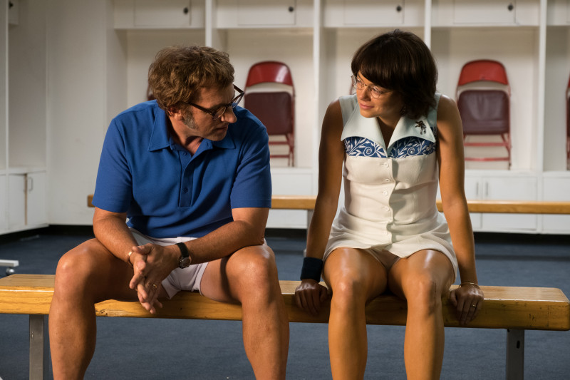 Steve Carell, Emma Stone ve filmu Souboj pohlaví / Battle of the Sexes