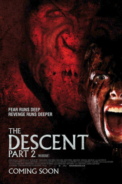 Plakát filmu Pád do tmy 2 / The Descent: Part 2