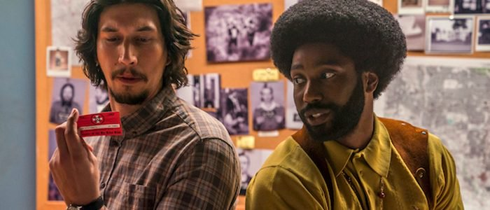 Adam Driver, John David Washington ve filmu BlacKkKlansman / BlacKkKlansman