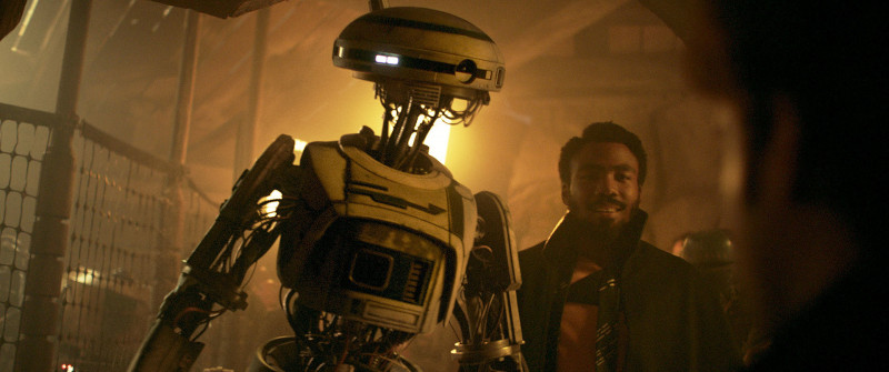 Phoebe Waller-Bridge, Donald Glover ve filmu Solo: Star Wars Story / Solo: A Star Wars Story