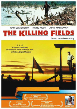 Plakát filmu Vražedná pole / The Killing Fields