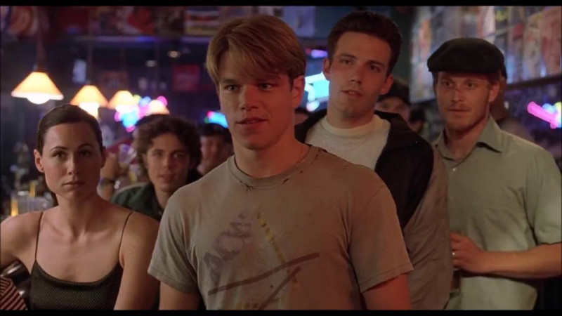 Matt Damon, Ben Affleck ve filmu Dobrý Will Hunting / Good Will Hunting