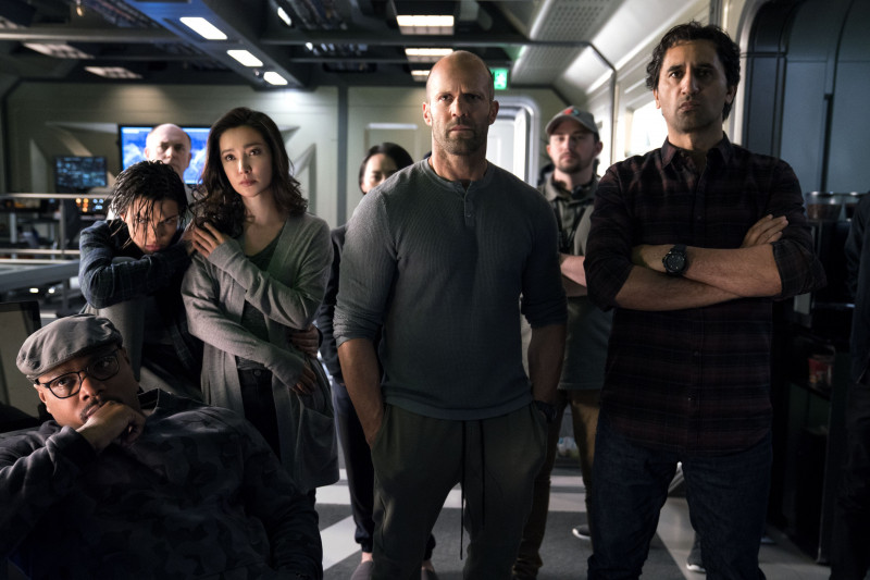 Ruby Rose, Li Bingbing, Jason Statham, Cliff Curtis ve filmu MEG: Monstrum z hlubin / The Meg