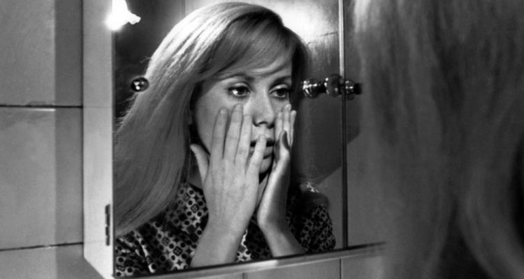 Catherine Deneuve ve filmu Hnus / Repulsion