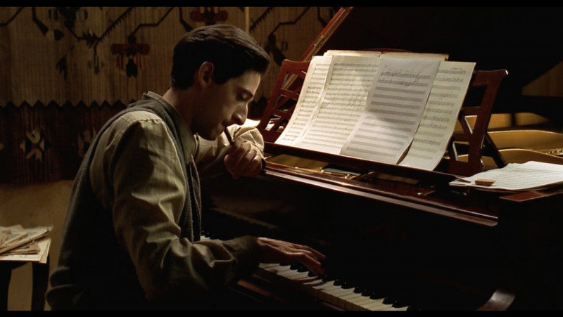 Adrien Brody ve filmu Pianista / The Pianist