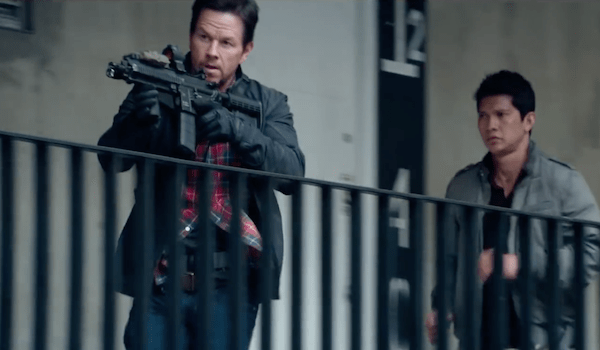Mark Wahlberg, Iko Uwais ve filmu  / Mile 22