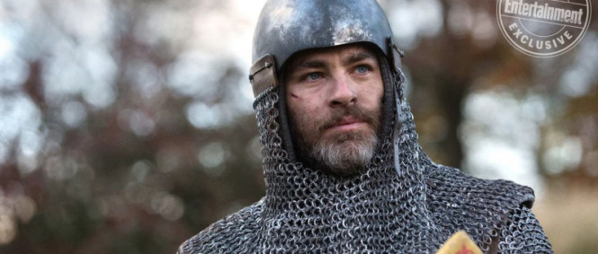 Chris Pine jako Outlaw King v traileru