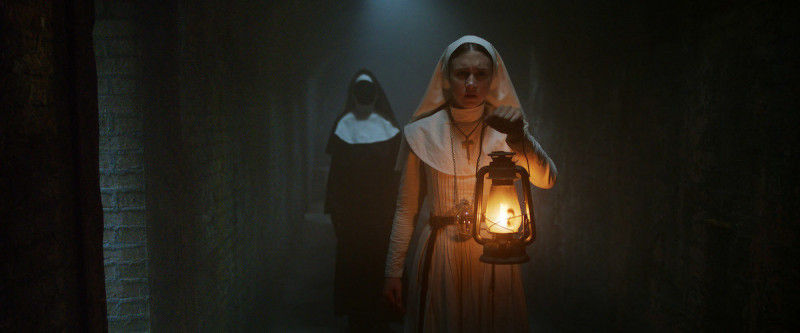 Taissa Farmiga ve filmu Sestra / The Nun