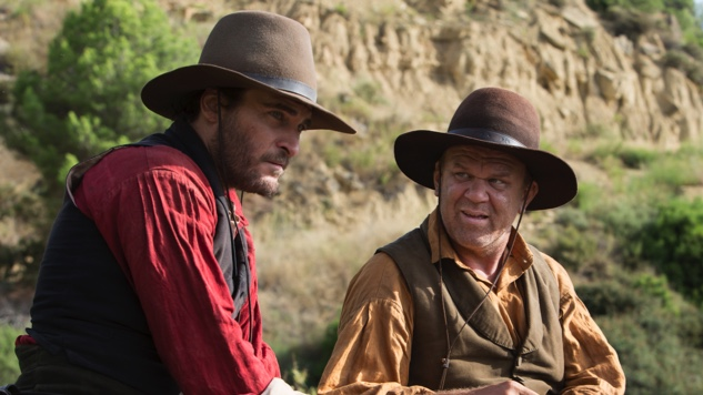 John C. Reilly, Joaquin Phoenix ve filmu  / The Sisters Brothers
